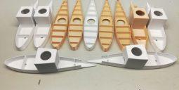 Разные виды корпусов для антенн судовой техники фото