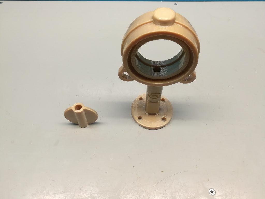 Прототип затвора насосного оборудования